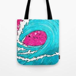 The Sea's Wave Tote Bag