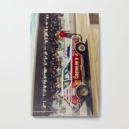 AMC Gremlin X Drag Car Metal Print
