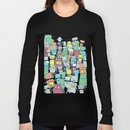 Robot Party Long Sleeve T-shirt