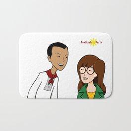 Daria meets Andres Bonifacio Bath Mat