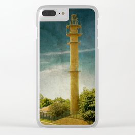 DE - Niedersachsen Old lighthouse in Schillig Clear iPhone Case