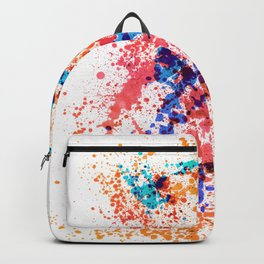 Wild Style - Abstract Splatter Style Backpack