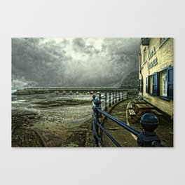 The Cod and Lobster Pub. Canvas Print