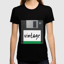 Vintage Floppy Disk T-shirt