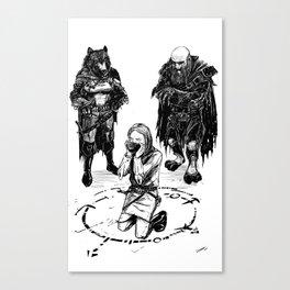Pesharyn Scion Canvas Print