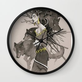 Forest call Wall Clock
