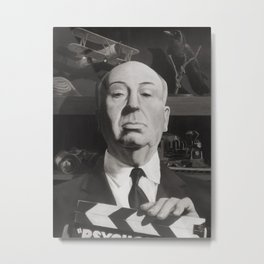 Hitchcock Metal Print