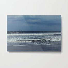 Blue sea, blue sky Metal Print