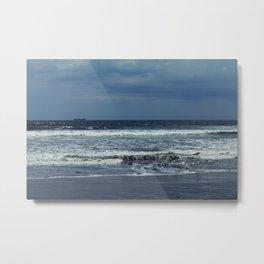 Blue sea, blue sky Metal Print
