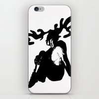 antler iPhone & iPod Skins featuring Antler by Maria Kate Betts