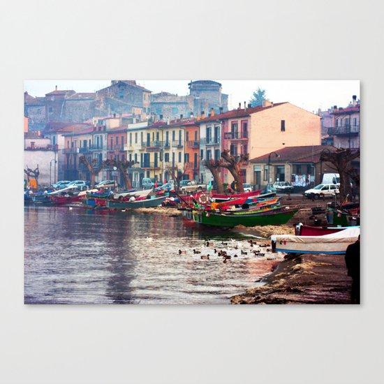 Winter in Marta Canvas Print