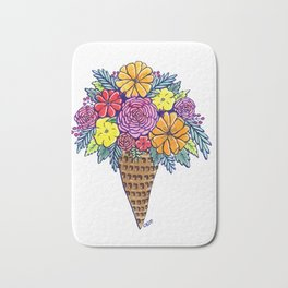 Floral Joy Bath Mat