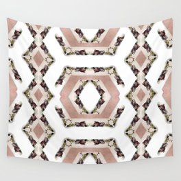 Fruit Diamonds Photographic Pattern #1 Wall Tapestry