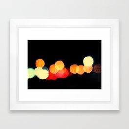 night travelers Framed Art Print