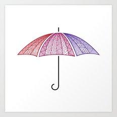Ready for Rain Art Print