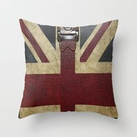 england Throw Pillows featuring England Reisen by Fine2art
