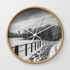 Arriving to Ottawa Wall Clock