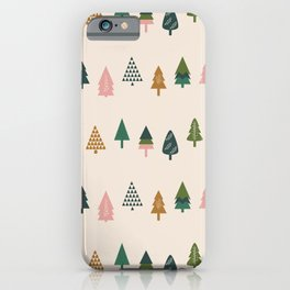 Christmas Trees (Highland) iPhone Case