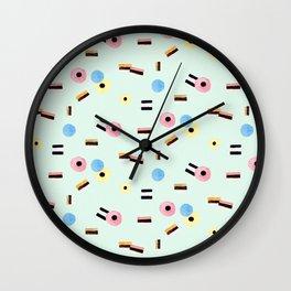 sweet things: allsorts Wall Clock