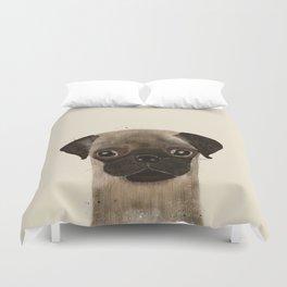 little pug Duvet Cover
