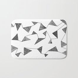Triangle Barf Bath Mat