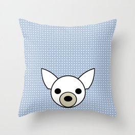 Pop Dog Chihuahua Throw Pillow