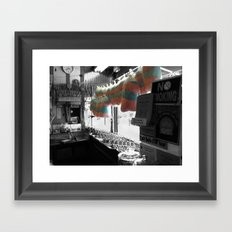 Coney Island Candy Store Cotton Candy Framed Art Print