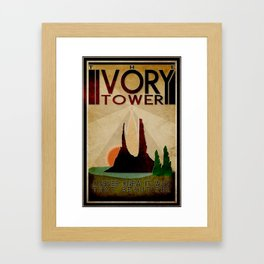 Neverending Story - The Ivory Tower Framed Art Print