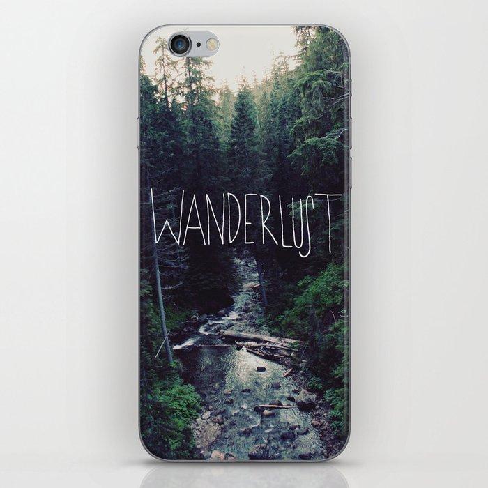 Wanderlust: Rainier Creek iPhone Skin