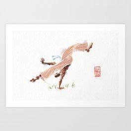 Capoeira 292 Art Print