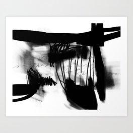 Letter #1 Art Print