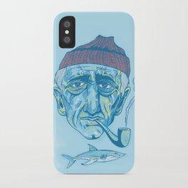 Cousteau. iPhone Case
