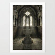 Fountain of God Art Print