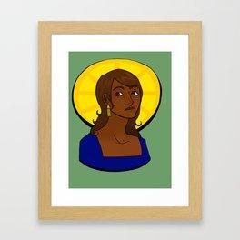 La Salvadora Framed Art Print