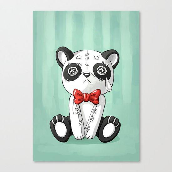 Panda Doll Canvas Print