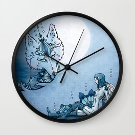 Juliana & The Wolf Spirit Wall Clock