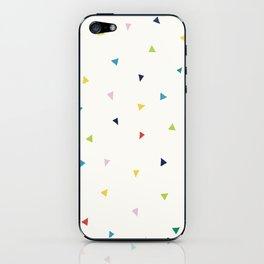 Cute Confetti Pattern iPhone Skin