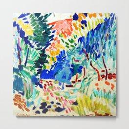 Henri Matisse Landscape at Collioure Metal Print