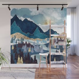 Valley Sunrise Wall Mural
