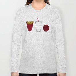Aqua teen hunger force minimalist  Long Sleeve T-shirt