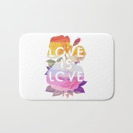 Love is Love Bath Mat
