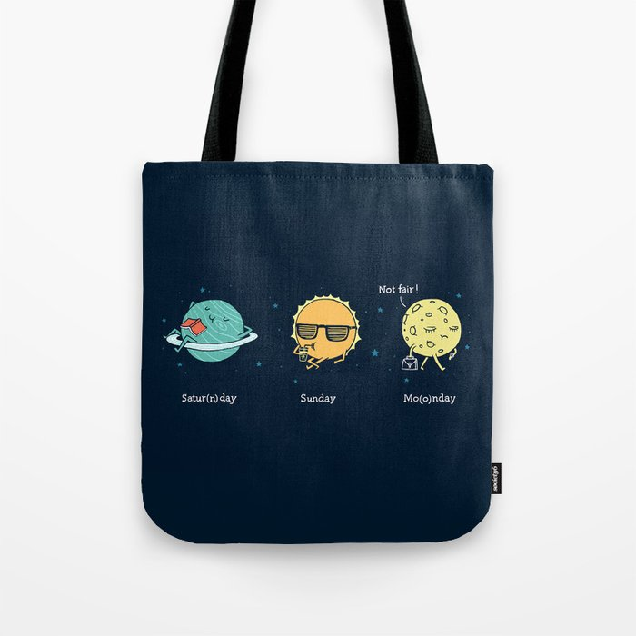 Moonday Tote Bag