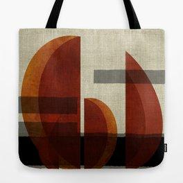 """""""Abstract Ships at Sunset"""" Tote Bag"""