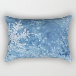 Winter wonderland Snowflakes Rectangular Pillow