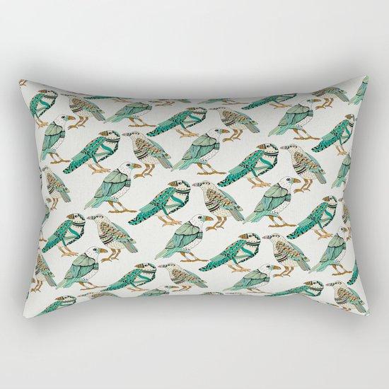 Little Crows Rectangular Pillow
