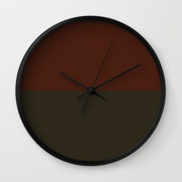 Choc Licorice Wall Clock