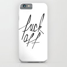 Typography 01 Slim Case iPhone 6s