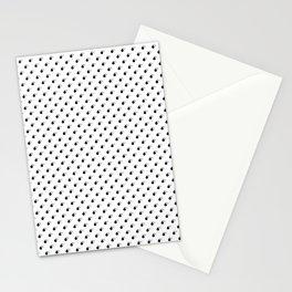 BOMB PATTERN - BLACK - SMALL Stationery Cards
