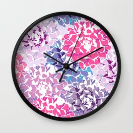 Flowers garden Wall Clock