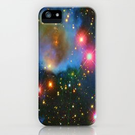 A Nebula showing off its colors iPhone Case